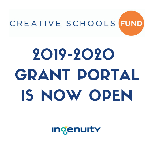 Apply for a 2019–20 Creative Schools Fund Grant