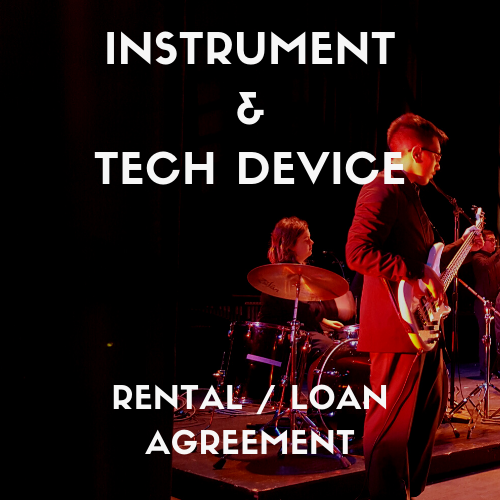 Instrument & Device Agreement – Inventory and Instructions