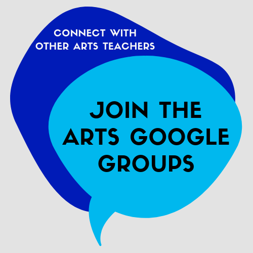 Join the Arts Google Groups!